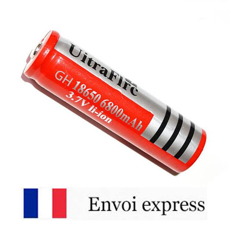 Pile rechargeable BRC 18650 6800mAh 3.7V Li-ion - Batterie lithium accu akku NK