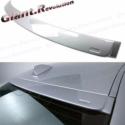 Painted A Type Rear Roof Spoiler Fit BMW E90 06-11 330i 335i 325i 4D Window Lip