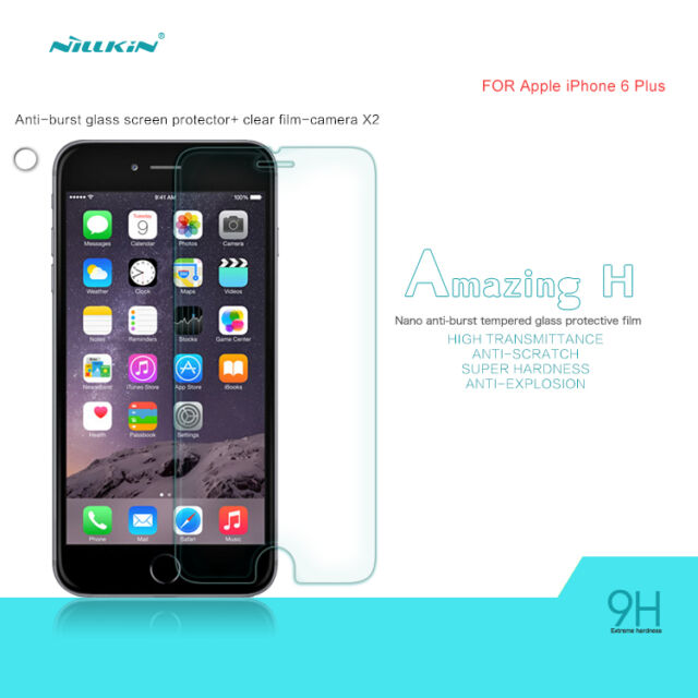 Nillkin Amazing 9H Tempered Glass Screen Protector for Apple Iphone 6 Plus