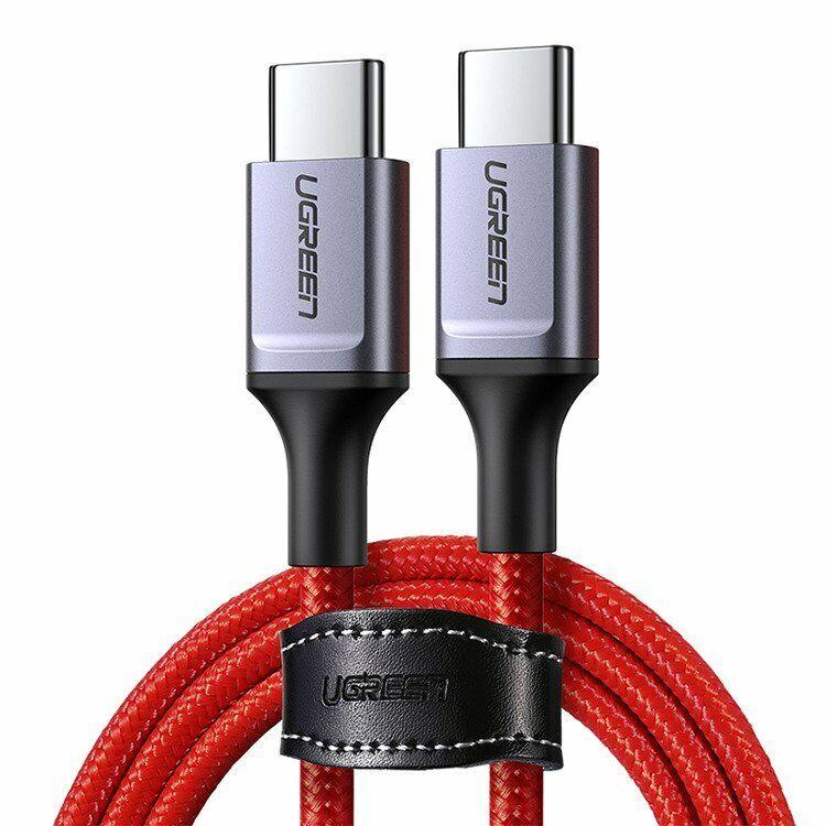 Ugreen Cavo 1 metro USB C Type-C 45W 3A Nylon Rosso