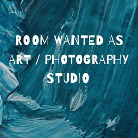 Room to use as an art / photography studio