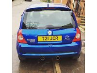 Renault Clio 182 2.0 2005 75k miles Milltek exhaust private plate included