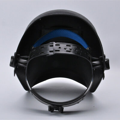 Welding Helmet Electric Welding Argon Arc Head-mounted Mask Black