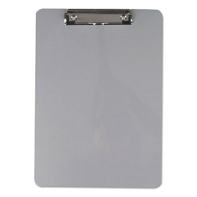 Universal Aluminum Clipboard With Low Profile Clip 12 Capacity 8 X 11 12