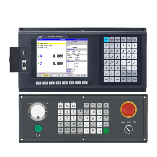 New Two Axis CNC Controller for Lathe&turning machine servo stepper CNC system
