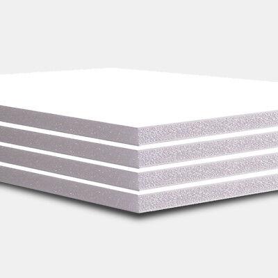 Acid Free Foam Core (A1 FOAM BOARD 5MM (10 SHEETS) NEW FOAM CORE WHITE CFC AND ACID FREE HIGH)