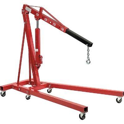 New Folding Floor Crane With Telescopic Boom 4000 Lb. Capacity