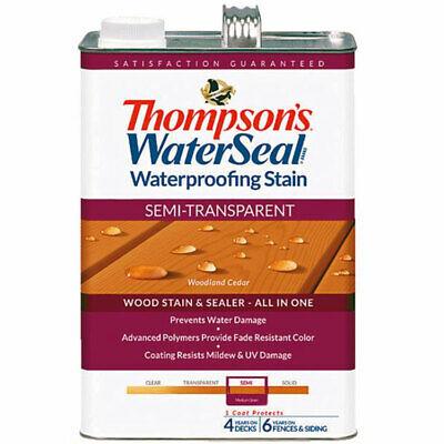 Thompsons WaterSeal Semi-Transparent Waterproofing Stain WOODLAND CEDAR gal