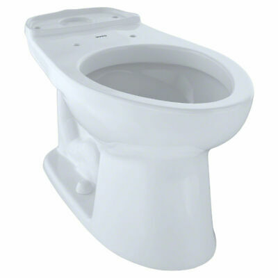TOTO CST744SLB#01 Drake Toilet, 1.6 GPF with Bolt Down Lid,