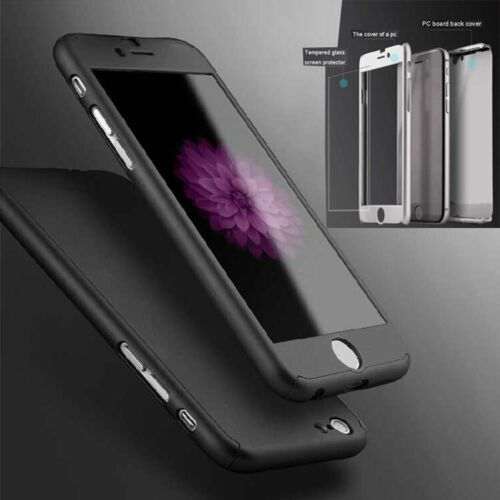 New 360u00b0 Full Protect Hard Slim Case Cover For iPhone 6 Plus Free ...