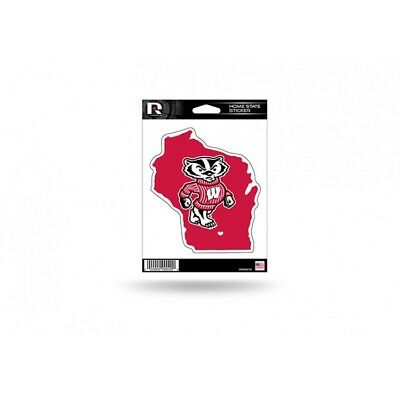 wisconsin badgers home state ncaa college vinyl sticker car emblem decal