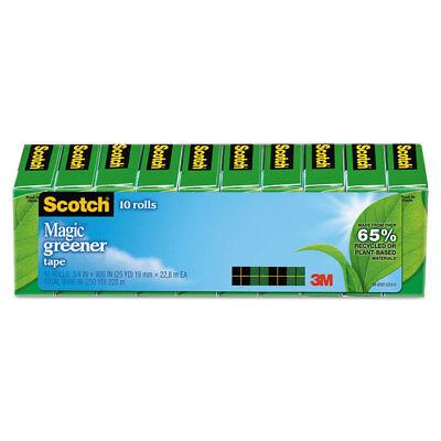 Scotch Magic Greener Tape 34 X 900 1 Core Clear 10pack 81210p
