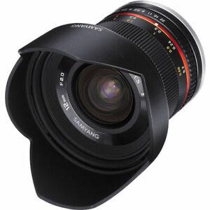 Samyang 12mm f/2.0 NCS CS Lens for Micro Four Thirds Mount