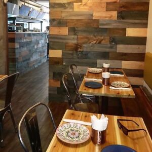 Restaurant Bar Cafe Renovation - Tables Floor + Seating Booths