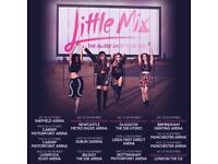 Little Mix Belfast Odyssey / SSE Arena 7th November 2017, single floor seat in 6th row