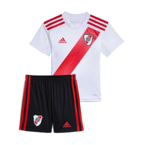Adidas River Plate Official Home Suit Jersey & Shorts Kids - FM1183