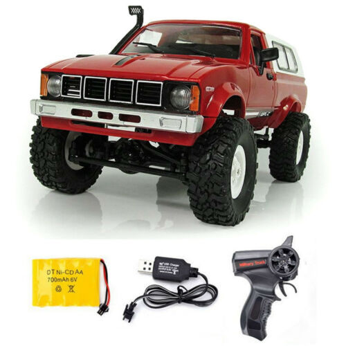 WPL C24 2.4G Remote Control RC Truck Crawler 4WD Off-road Toys Car Buggy for Kid