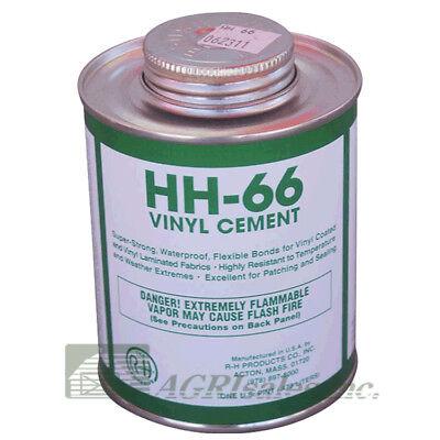 Hh-66 Vinyl Repair Cement - 1 Pint 16 Oz - Paint Ball Obstacle Tarp Repair