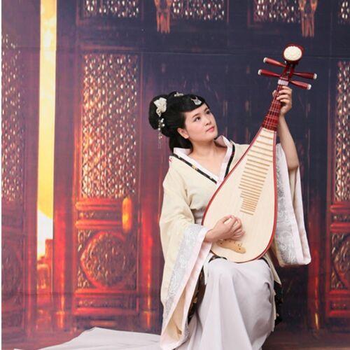 Lute Liuqin - Chinese Soprano Pipa Dunhuang Musical Instrument / Adults 琵琶 #4861