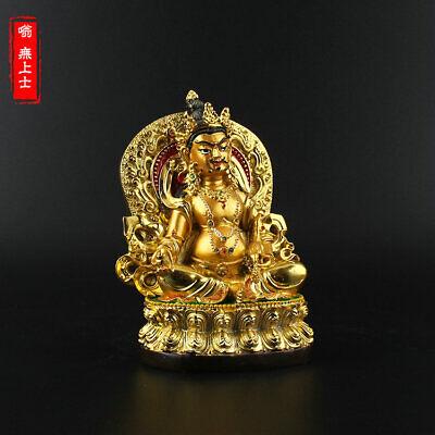 Vajrapani Vajra Pu Sa Colored Buddha Statue Tibet Mikky Altar Buddhist Resin