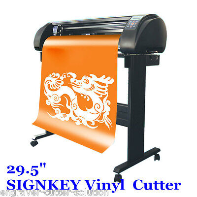 29.5 Signkey Vinyl Cutter Sign Plotter Common Cutting System Bluetooth Output