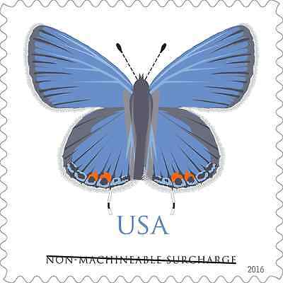 2016 EASTERN TAILED-BLUE BUTTERFLY SINGLE -  MNH