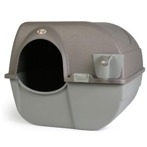 Omega paw roll n clean litter boxes one regular & one large size