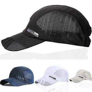 cool casual mens outdoor sports baseball cap flat brimmed
