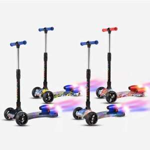 NEW GENERATION KIDS SCOOTERS WITH FOG/LIGHTS/MUSIC/FOLDING/EVA