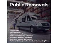 short notice Man and Van 15/ph Reliable Removals Service