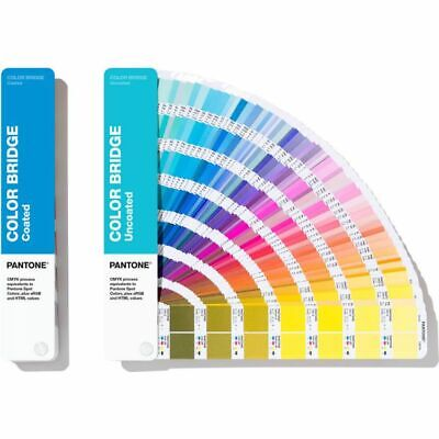 Pantone Color Bridge Guides Coated Uncoated Gp6102a Color Reference Guide