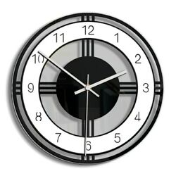 Acrylic Wall Clock Silent Non Ticking Battery Operated Round Clock  - Free Ship