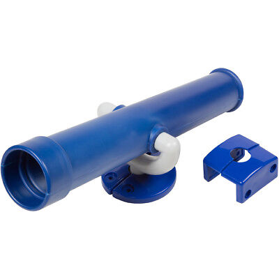SWING SET STUFF TELESCOPE BLUE playground accessories outside fort wood 0006