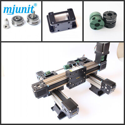 Mjunit Wood Cnc 2-axis Engraving Machine Linear Rail With 400x750mm Stroke