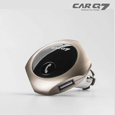 Car Cigarette Lighter Bluetooth FM Transmitter Radio MP3 Music Player USB Kit U