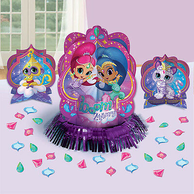 Shimmer and Shine Table Decoration Kit Center Piece Birthday Party Supplies ~23](Party Supply Center)