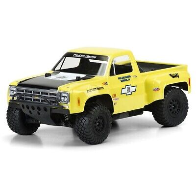 Chevrolet Truck Body - Pro-Line 1978 Chevy C-10 Race Truck Clear Body Traxxas Slash 2WD 4x4 SC Trucks