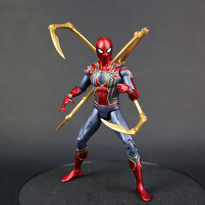 Marvel Spider Man Iron Spider Avengers Infinity War 7   Action Figure Toy Gifts