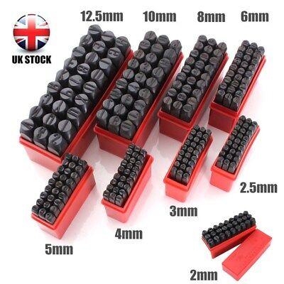 Uk A-z Letter 0-9 Number Metal Punch Alphabet Mark Steel Stamps Craft Tool