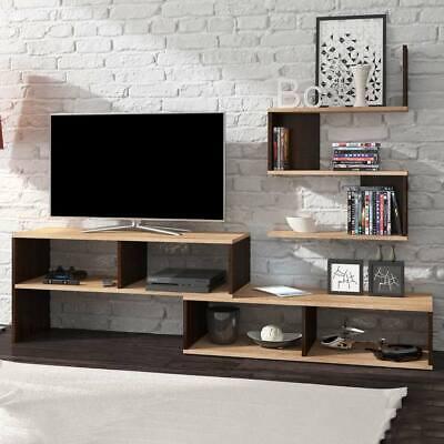 Parete attrezzata JESSICA rovere chiaro e scuro mobile design soggiorno moderno