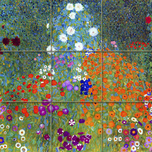 Art-Colorful-Gustav-Klimt-Ceramic-Mural-Backsplash-Bath-Tile-2022