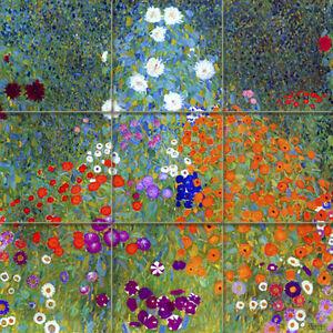 Art-Colorful-Gustav-Klimt-Ceramic-Mural-Backsplash-Bath-Tile-2022