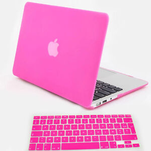 coque Matte FR Clavier protection Rose Fusha pour MacBook Air 13 3