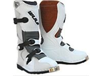 Motocross boots size 5
