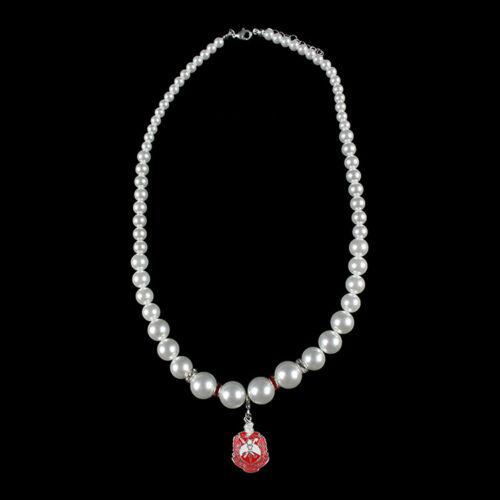 Delta Sigma Theta Sorority Pearl Necklace-New!