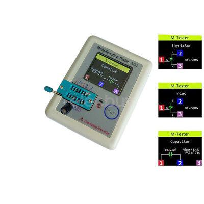 Transistor Tester Tft Diode Triode Capacitance Meter Lcr-tc Esr Npn Pnp Mosfet