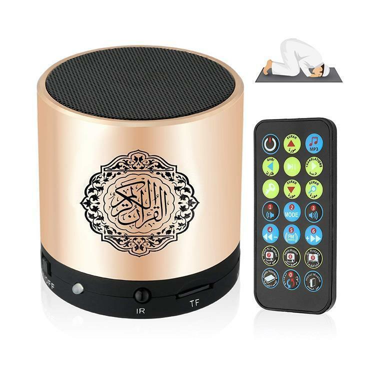Portable Bluetooth Quran Speaker MP3 Player Quran Translator USB Rechargeable