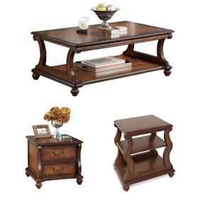 3pc Shelton Collection - Coffee, End and Accent Tables