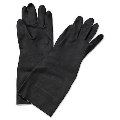"Boardwalk Neoprene Flock-Lined Gloves Long-Sleeved 12"" X-Large Black Dozen 543XL"