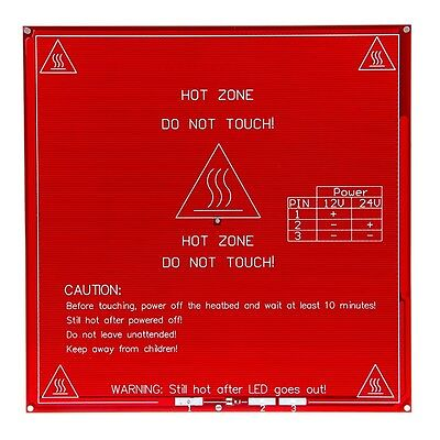 Geeetech Ramps Pcb Heatbed Mk2b Dual Power 1224v Hotbed Hot Plate Reprap